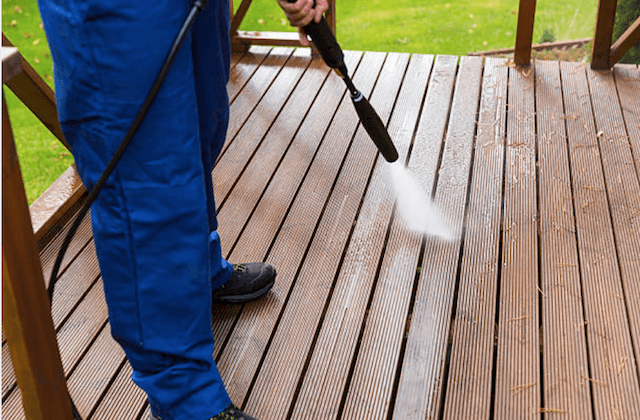 deck cleaning daly city