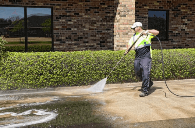 commercial concrete cleaning in daly city
